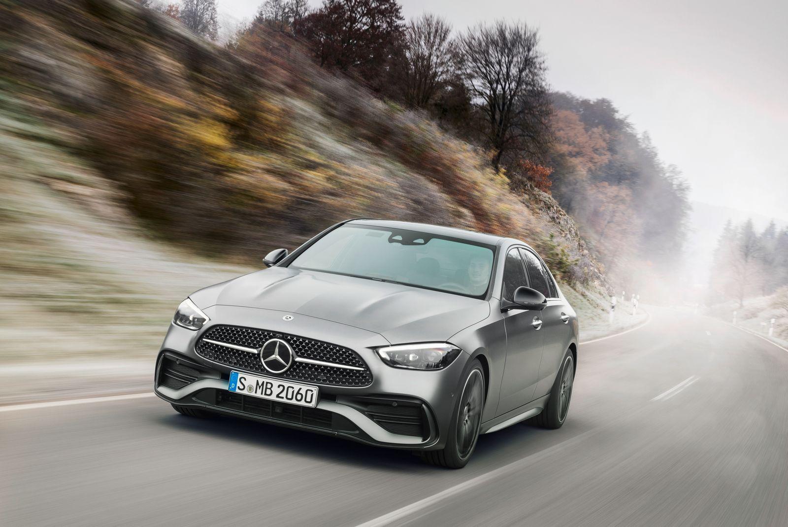 PAD/Embargo Digital World Premiere: Tuesday, February 23rd 14:00 Uhr (MEZ) Mercedes-Benz C-Klasse, 2021 // Mercedes-Benz C-Class, 2021