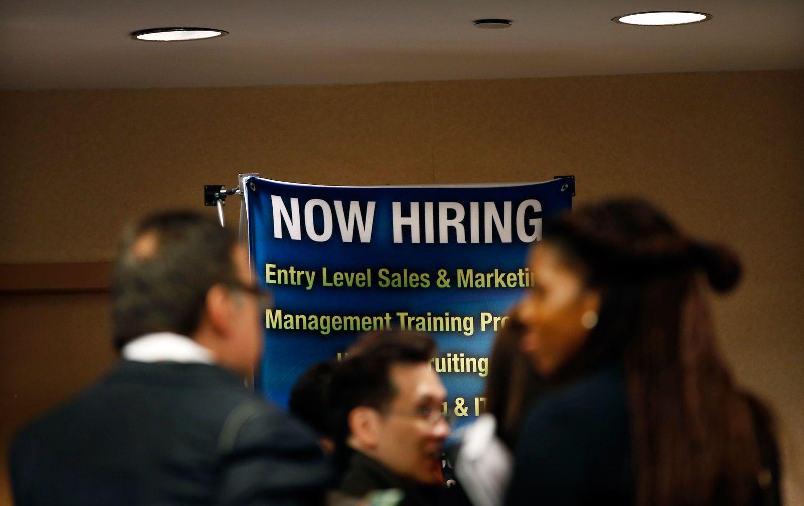 Arbeitslosigkeit / USA / Arbeitsmarkt / Arbeitslos / Konjunktur
