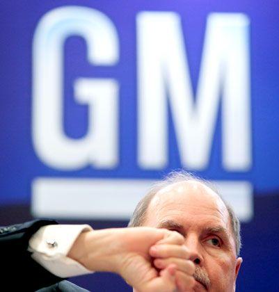 Abgang: GM-Chef Henderson räumt die Konzernspitze