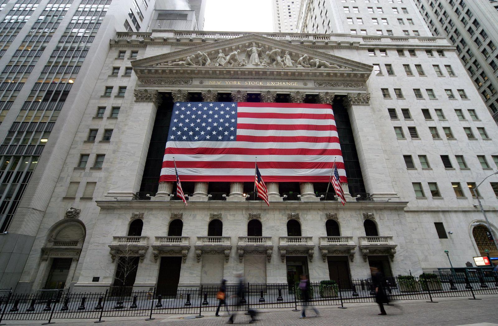 Börse in New York - Sturzflug der Aktien