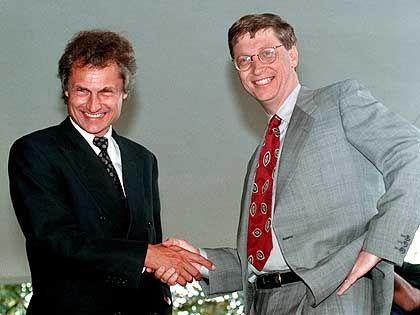 Frieden geschlossen: Henning Kagermann und Bill Gates