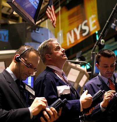 Händler an der Wall Street: Stimmung der Einkaufsmanager verbessert