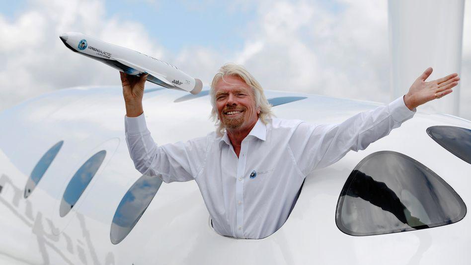 """Überflieger Branson: """"Der Drang, die Welt zu verändern, braucht ein Ventil"""""""