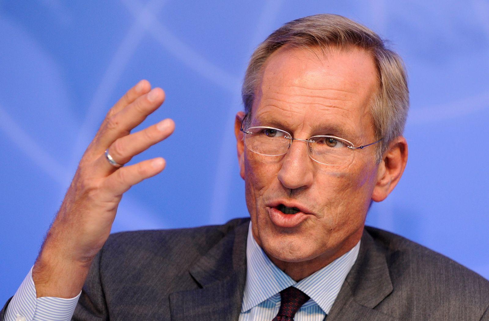 NICHT VERWENDEN Allianz SE / Michael Diekmann / Bilanz-Pressekonferenz / München