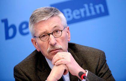 Neu-Bundesbanker Sarrazin: Künftig zuständig für die Bereiche Bargeld, IT und Risikokontrolle