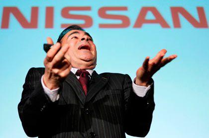 Nissan-Chef Ghosn: Insgesamt schwieriges Jahr