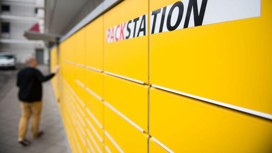 Gefragte Stahlkisten: Die Packstationen der Deutschen Post kommen gut an