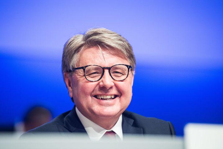 ... Theodor Weimer, Chef der Deutschen Börse, steht ein möglicher Nachfolger in den Starlöchern.
