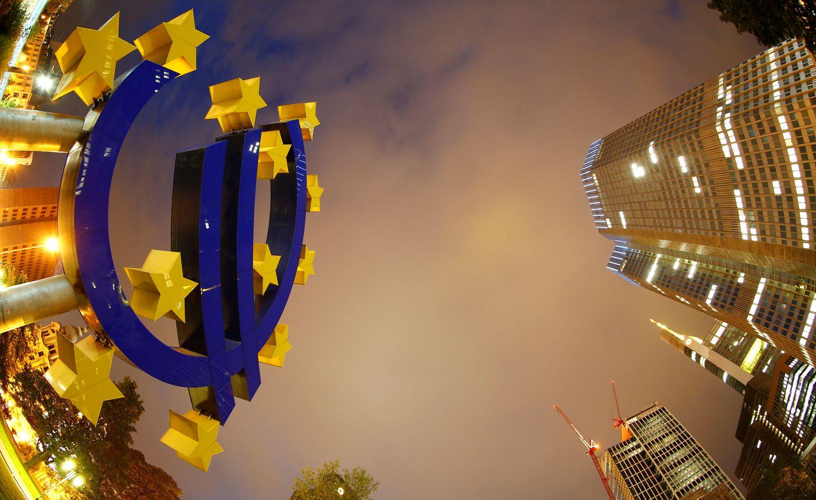 ezb euro zeichen