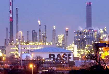 Soziale Verantwortung: BASF-Stammwerk in Ludwigshafen
