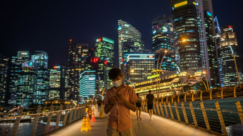 Ausnahmezustand: Im Kampf gegen Covid-19 hat die Regierung Singapurs die Freiheit in dem Stadtstaat auch für Expats massiv eingeschränkt