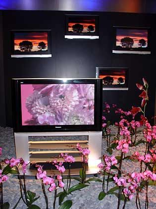 Farbenpracht: Flachbildschirme von Panasonic