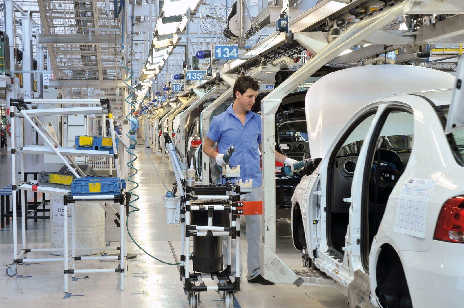 Volkswagen Werk Taubaté (Brasilien) / VW Voyage