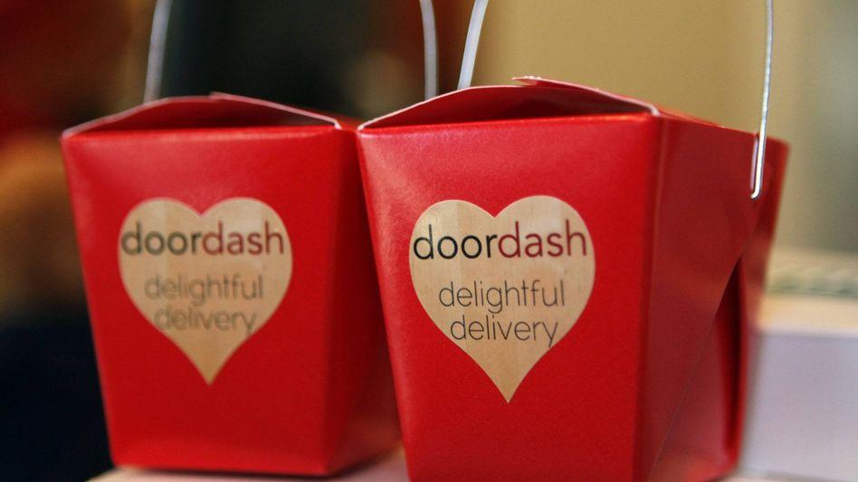 Klein und ansprechend verpackt: Doordash liefert mittlerweile in mehr als 3000 US-Städten Essen aus