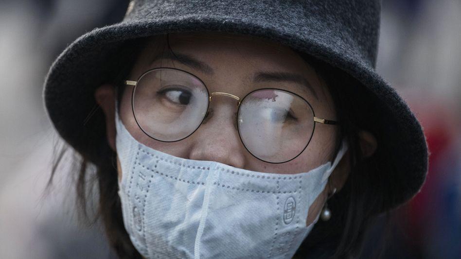 Angst vor dem Virus: Die chinesischen Behörden haben Wuhan praktisch abgeriegelt