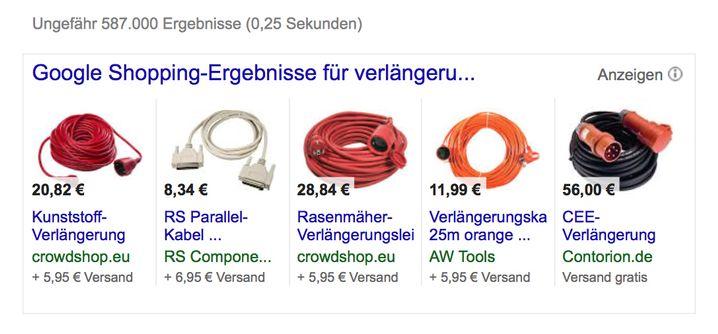 Die Welt des Online-Shoppens. Google will hier künftig Ebay und Amazon Konkurrenz und damit selbst das Geschäft machen