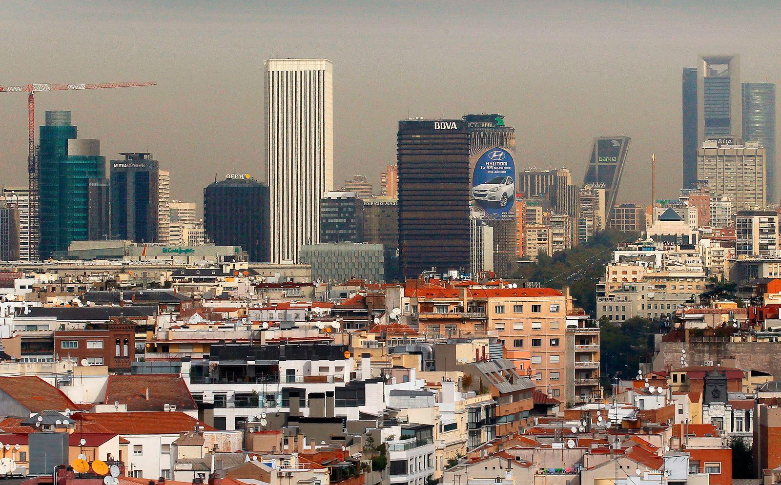 Madrid / Bankenviertel / Banken / Spanien