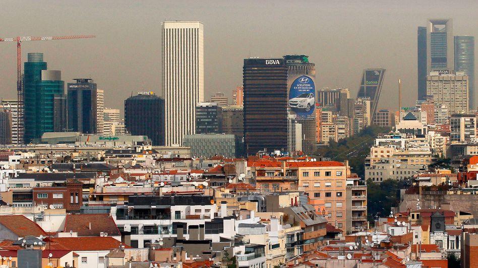Bankenviertel von Madrid: Fragmentierte Finanzmärkte