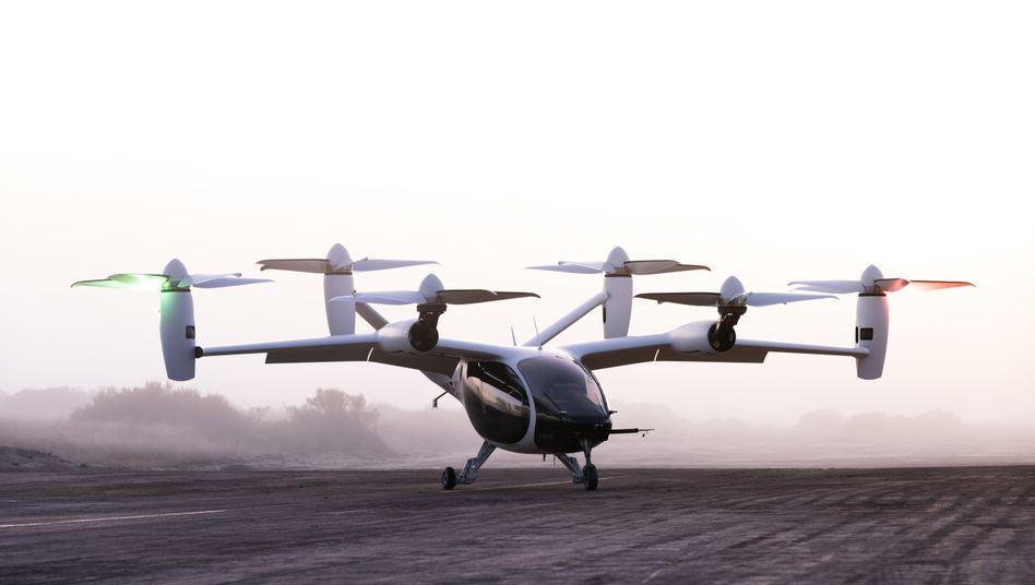 Hebt ab - auch bei der Bewertung: Der Flugtaxi-Prototyp von Joby Aviation hat laut einem Bericht schon 600 Testflüge hinter sich - nun will das US-Start-up an die Börse, mit einer angepeilten Bewertung von 5,7 Milliarden Dollar