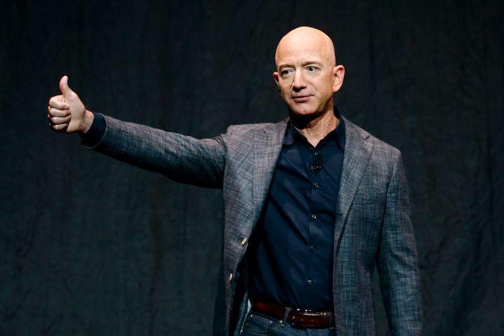 Armer, reicher Mann: In einzelnen Jahren bekam Jeff Bezos sogar Unterstützungsgelder vom Staat