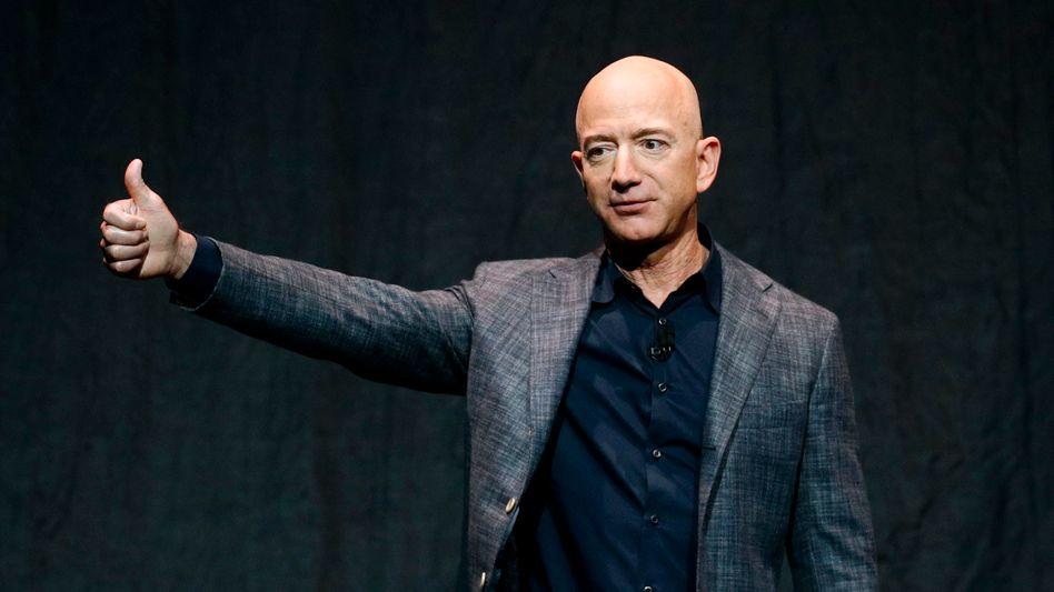 Jeff Bezos: Steuergutschrift von 4000 US-Dollar für den reichsten Menschen der Welt