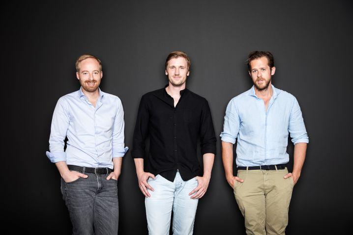 Lukrative Nebendeals: Rubin Ritter, David Schneider und Robert Gentz.