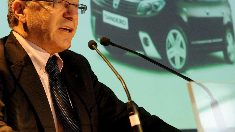 Gérard Detourbet: Der Mathematiker senkte bei Dacia kräftig Kosten - indem er weniger Teile verbauen ließ