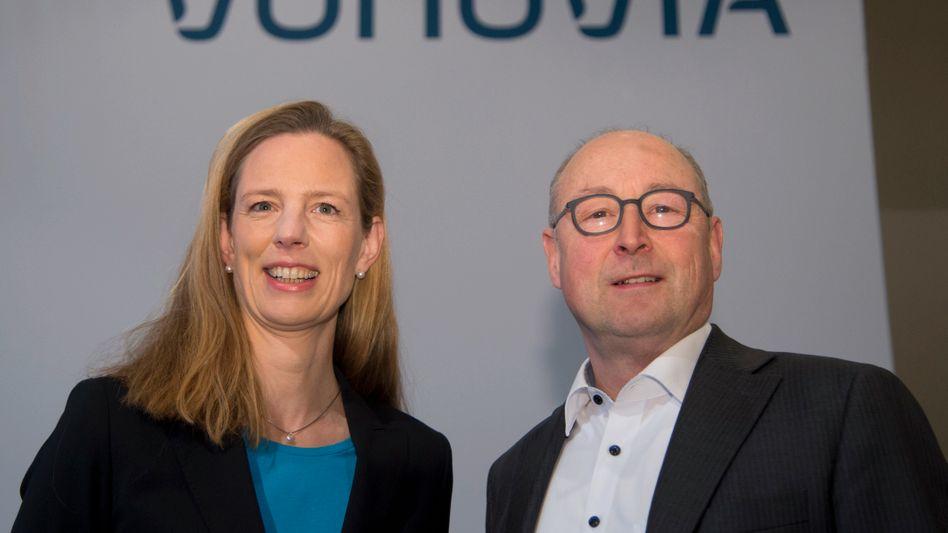 Überraschendes Ende: Vonovia-CEO Rolf Buch und CFO Helene von Roeder