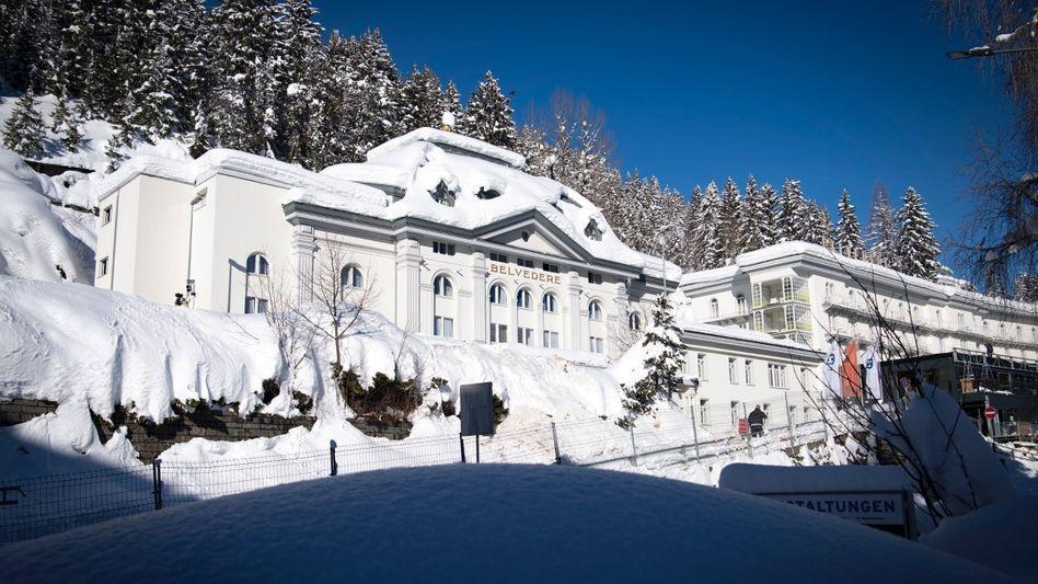 Davos: Eine Versammlung von Zombies in den Schweizer Bergen?