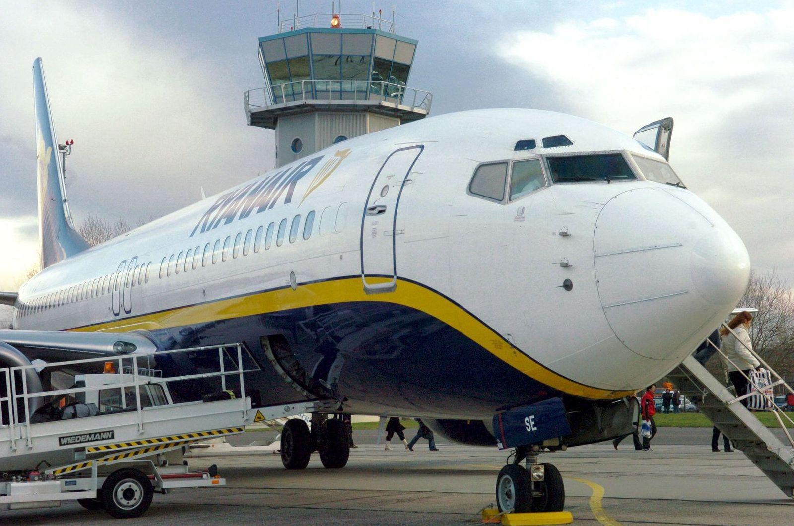 Flughafen Leipzig-Altenburg / Ryanair