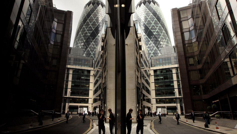 Irgendwo in London: Dort, in der City, soll das Gold-Fixing manipuliert worden sein, sagt eine Erhebung