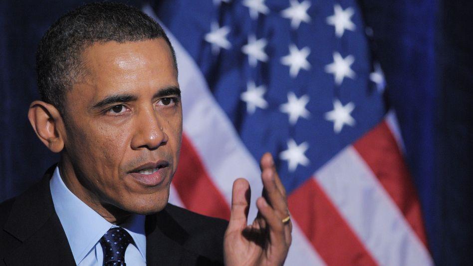 US-Präsident Obama: 85 Milliarden Dollar sollen in den USA bis Ende des laufenden Fiskaljahres im September eingespart werden