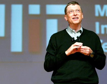 Strafe im minderschweren Fall: Bill Gates