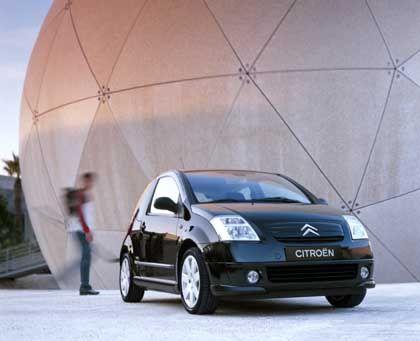 """Wird als """"Stadtsportwagen"""" angepriesen: Der Citroen C2 1. HDI mit 68 PS verbraucht 4,2 Liter"""