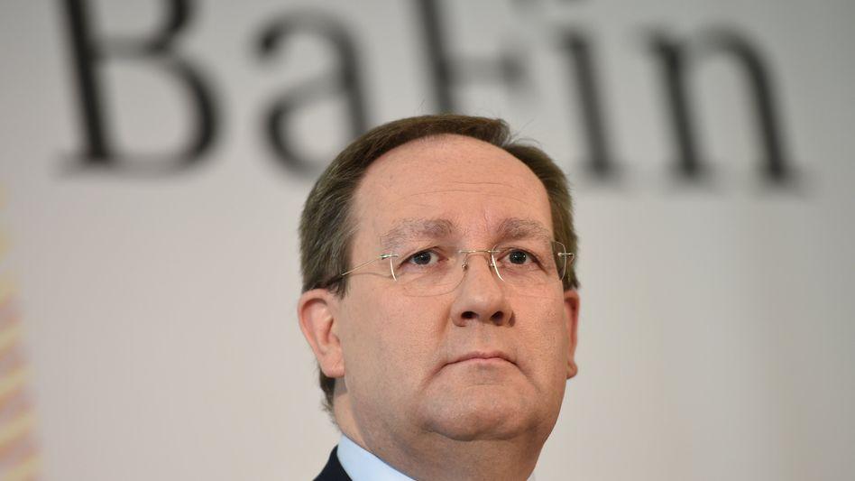 Bafin-Chef Felix Hufeld: Hat die Behörde die Prospekte von P&R nicht richtig geprüft?