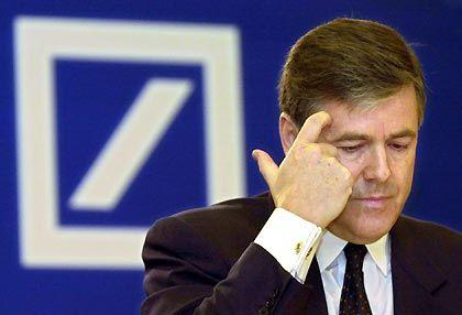Die Zeit wird knapp: Deutsche-Bank-Chef Ackermann muss bis Juni zwei Tage in der Woche vor Gericht erscheinen