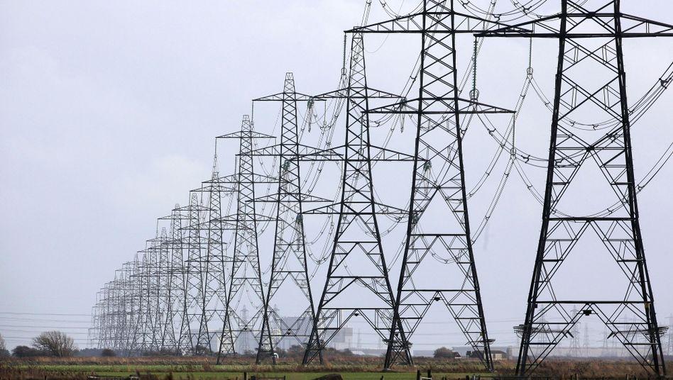 Deutscher Strom für Frankreich: Weil viele Franzosen mit Strom heizen, sind die französischen Atomkraftwerke in der Eiseskälte überlastet