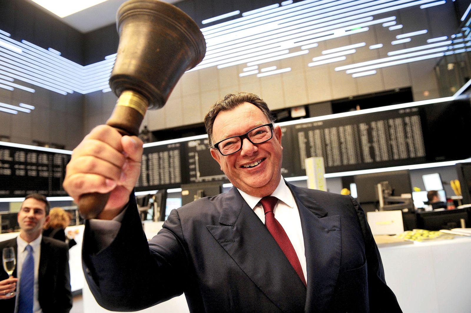 NICHT VERWENDEN Deutsche Boerse feiert Jubilaeum