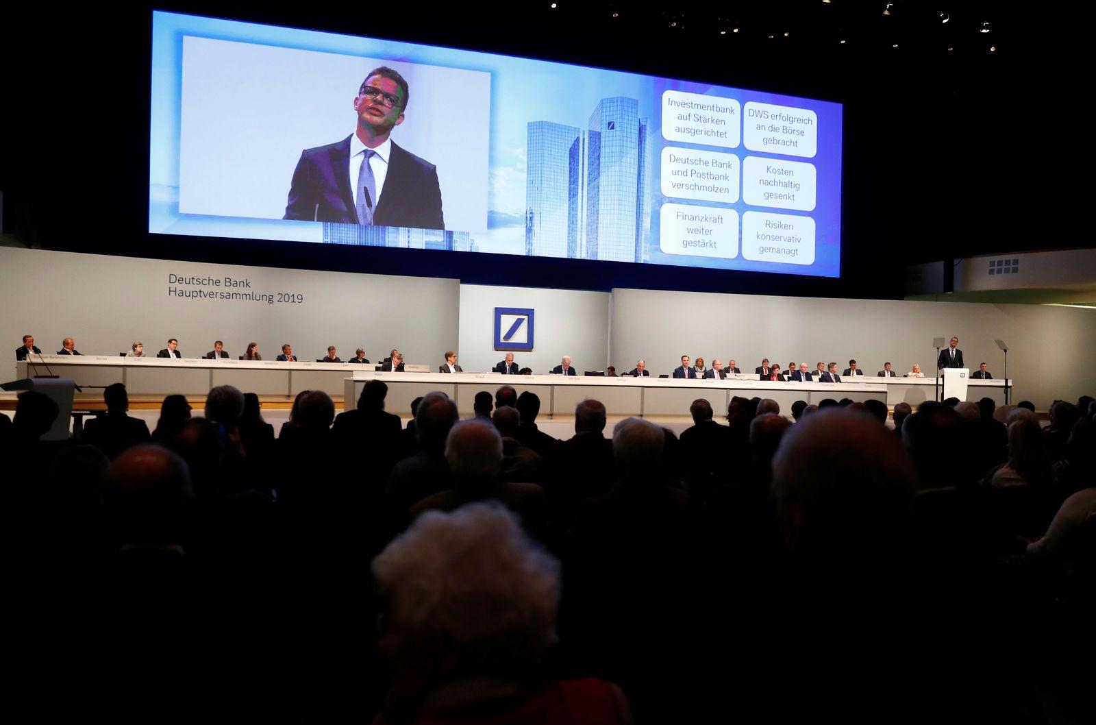 Deutsche Bank / Hauptversammlung