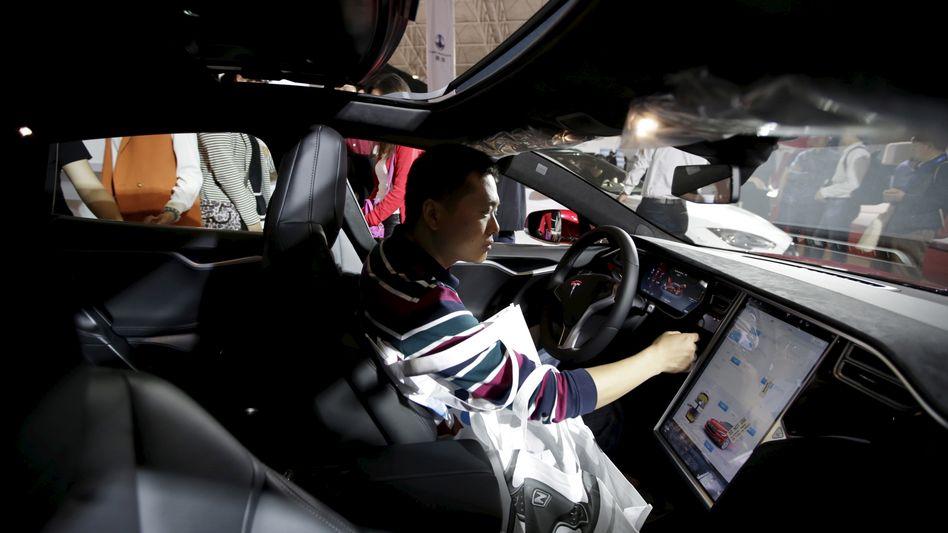Tesla in China: Die luxuriösen Elektromobile von Tesla sind in China gefragt