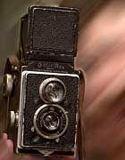 Legendär: Eine Spiegelreflexkamera der Marke Rollei aus dem Jahr 1929