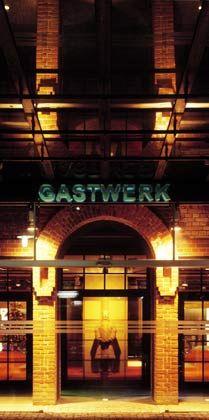 Hier war schon früher Kohle: Das Hotel Gastwerk nutzt ein ehemaliges Kohlenlager eines Hamburger Gaswerks