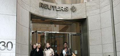 Übernahmeobjekt: Reuters-Zentrale in London