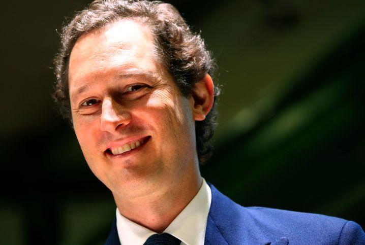 Mutiger Entscheider: John Elkann, Präsident und Verwaltungsratsvorsitzender der Exor-Holding.