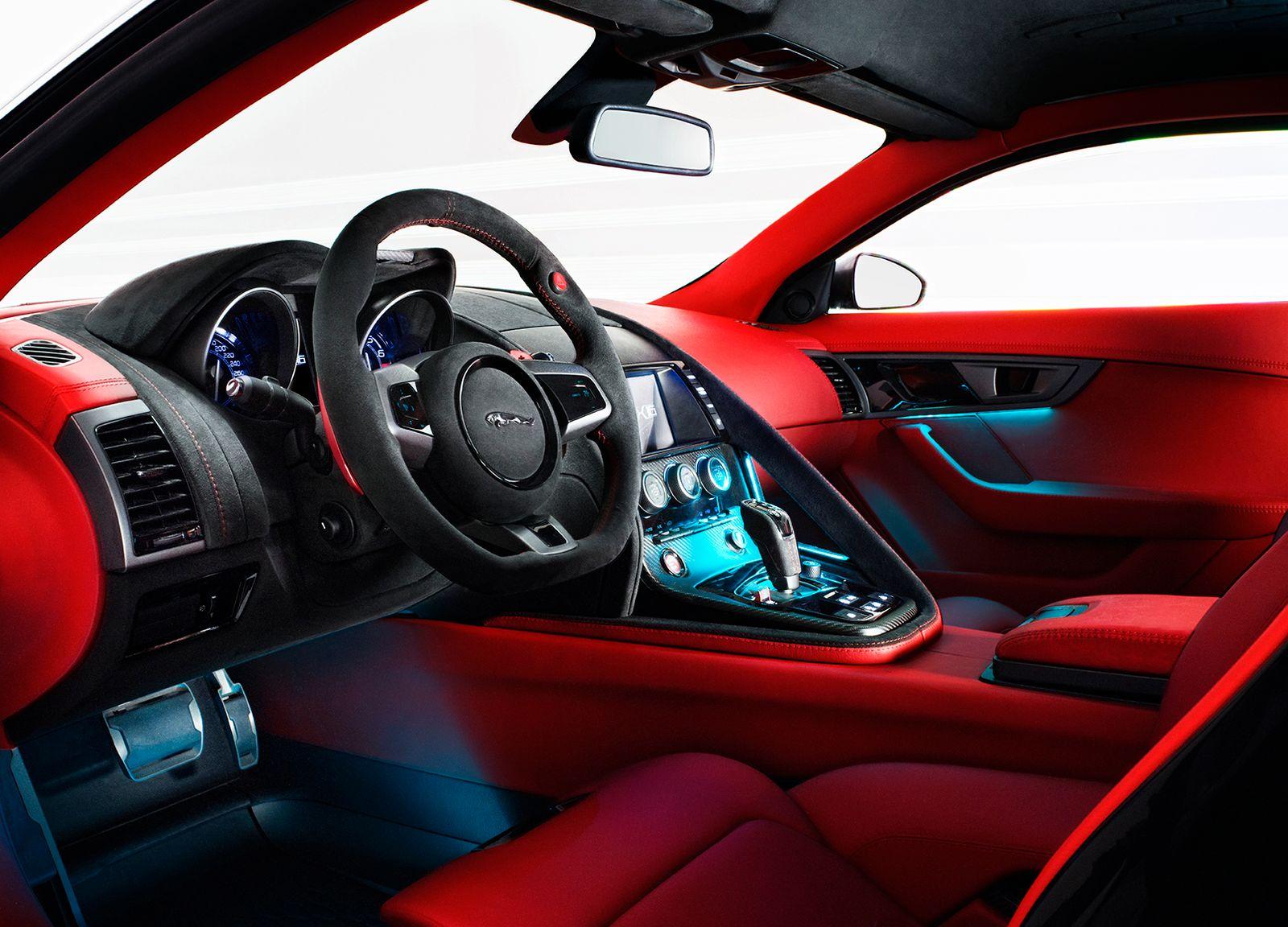 Jaguar CX 16 / Innenraum