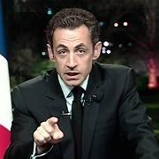 So nicht: Präsident Sarkozy steckt in der Bredouille