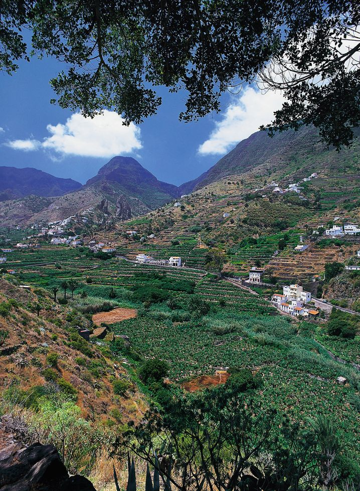 Zweitkleinste Insel der Kanaren: Auf La Gomera sucht man Hotelburgen vergeblich.