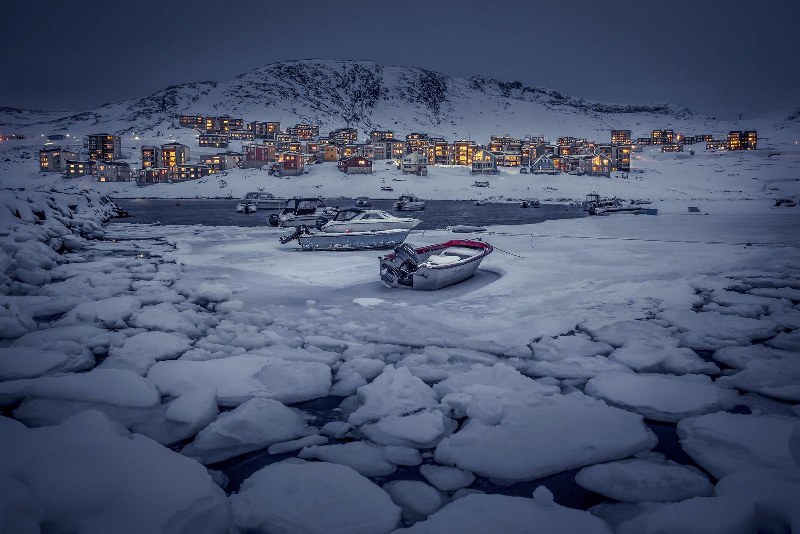 Winter in Grönland