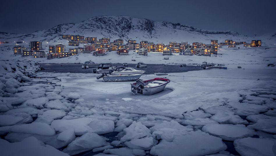 Nuuk in Grönland.