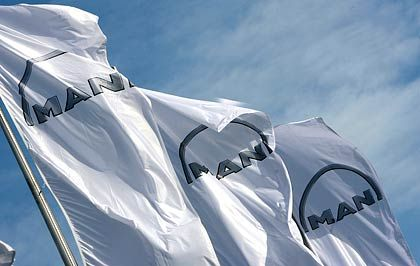 MAN: Die Aktien des Lkw-Herstellers hielten als einer der wenigen Gewinner im Dax die Fahne hoch.